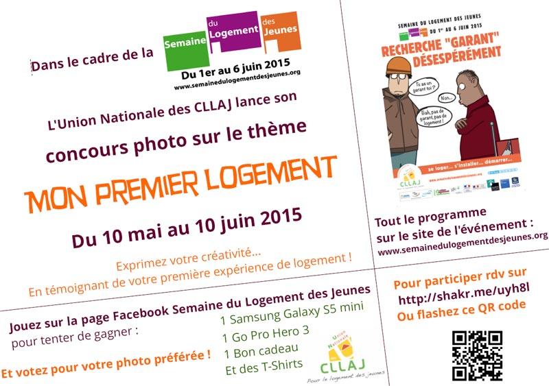 L'UNCLLAJ lance son concours photo : Mon 1er logement