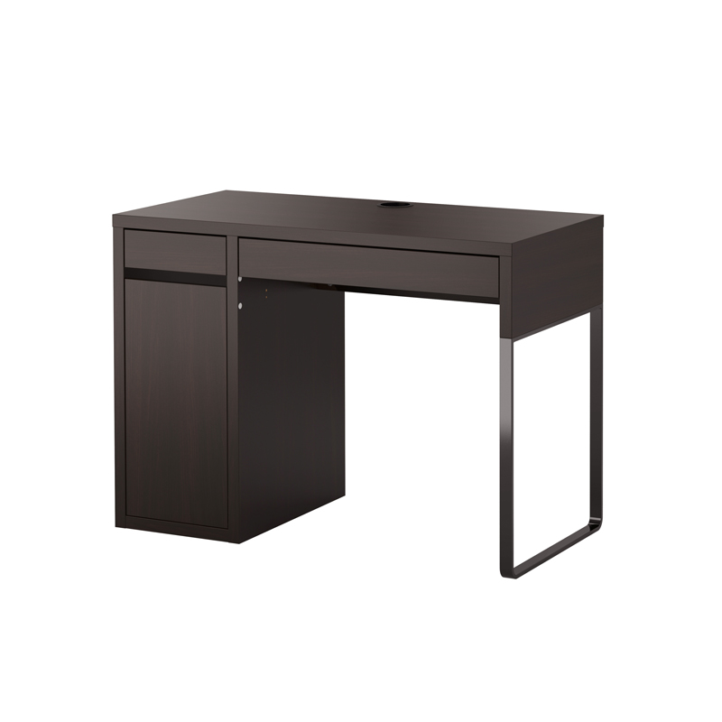 bureau bois ikea. Black Bedroom Furniture Sets. Home Design Ideas