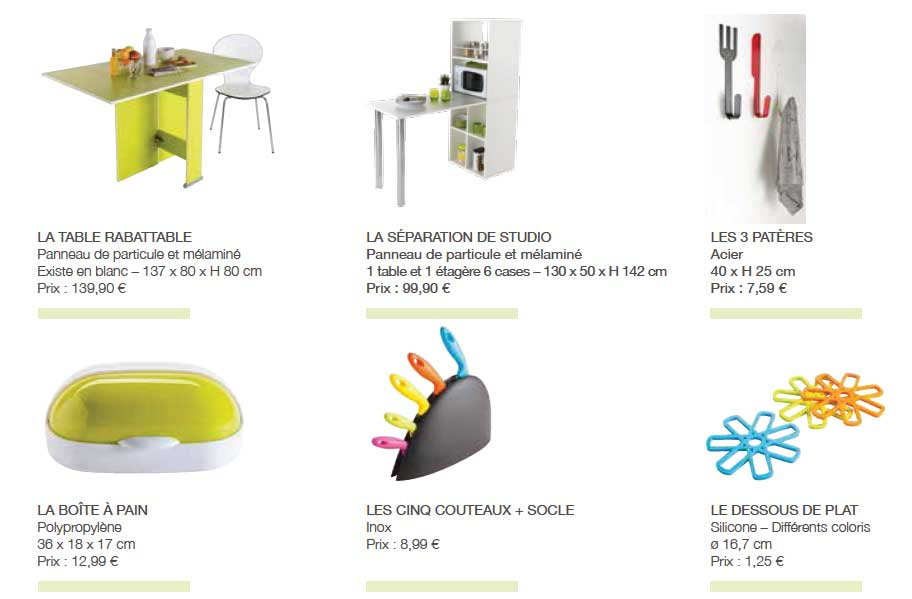 meubler son logement tudiant petit prix. Black Bedroom Furniture Sets. Home Design Ideas