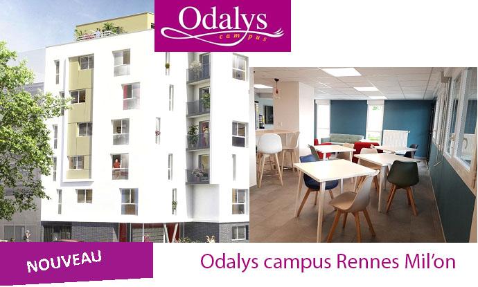 Une nouvelle résidence étudiantes à Rennes