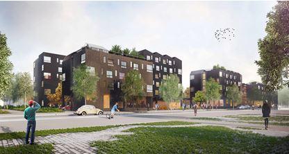 260 logements étudiants sociaux au sein du quartier de Moulon à Paris-Saclay