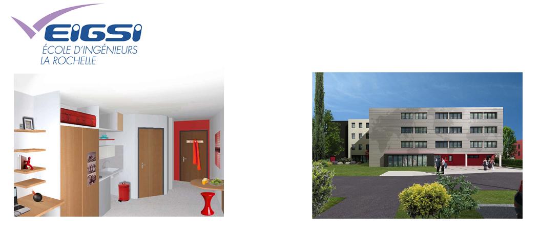 L'ESGI va ouvrir sa résidence étudiante à La Rochelle