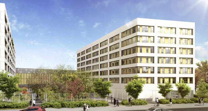Nouvelle résidence étudiante dans le quartier de Gerland, la résidence Suitétudes New Legend