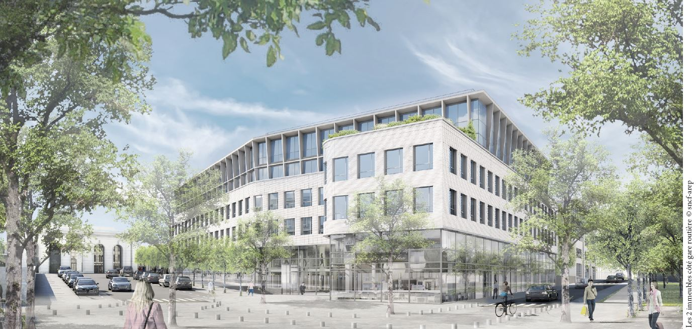Une résidence senior, une résidence étudiant et une crèche pour le nouveau quartier de Versailles-Chantiers