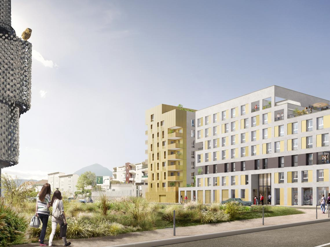 RESIDENCE NEUVE CARDINAL CAMPUS CANOPEE - CLERMONT-FERRAND