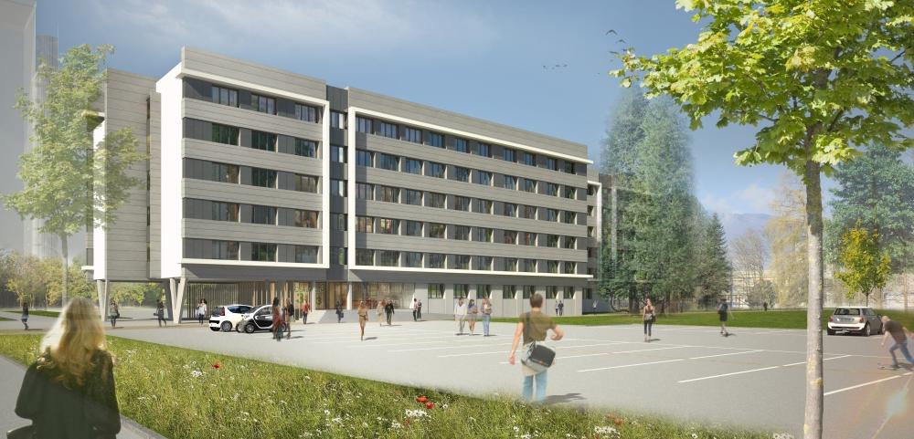 Une Nouvelle résidence universitaire à Saint-Martin-d'Hères ouvrira à la rentrée prochaine