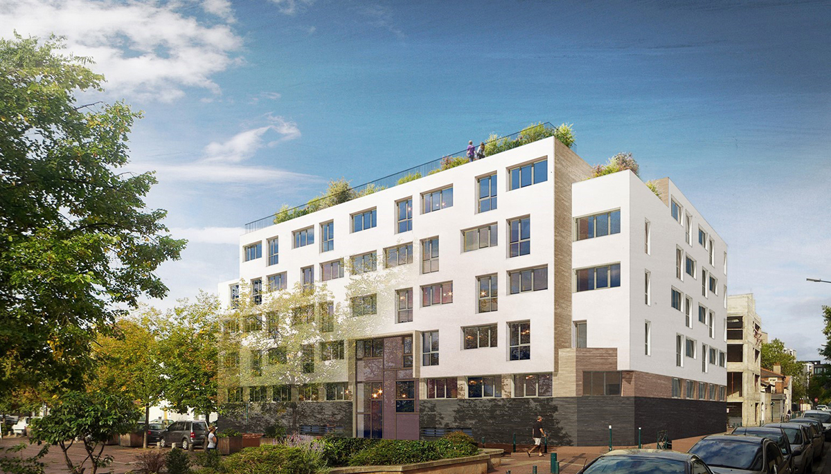 GENNEVILLIERS aura une  résidence étudiante de 128 appartements signé KLEY Campus