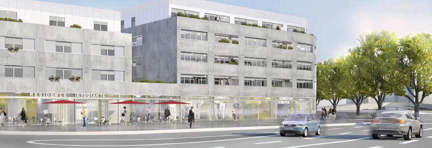 Une nouvelle résidence pour étudiant à NANCY